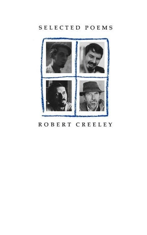 Selected Poems of Robert Creeley