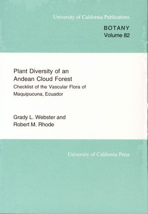 Plant Diversity of an Andean Cloud Forest
