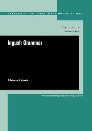 Ingush Grammar