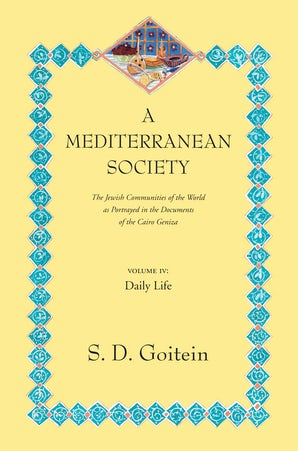 A Mediterranean Society, Volume IV