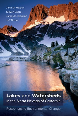 Lakes and Watersheds in the Sierra Nevada of California