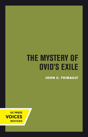 The Mystery of Ovid's Exile