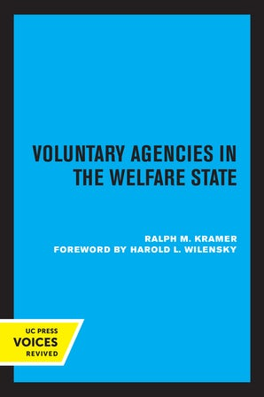 Voluntary Agencies in the Welfare State