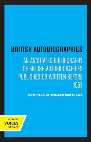 British Autobiographies