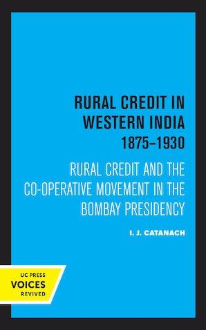 Rural Credit in Western India 1875–1930