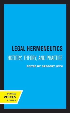 Legal Hermeneutics