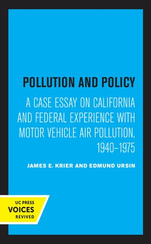 Pollution and Policy