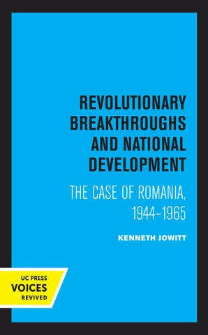 Revolutionary Breakthroughs and National Development