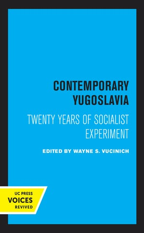 Contemporary Yugoslavia