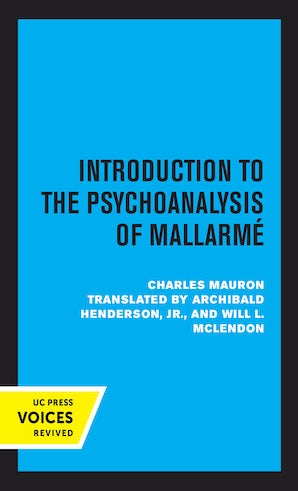 Introduction to the Psychoanalysis of Mallarme