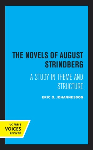 The Novel of August Strindberg