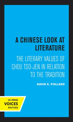 A Chinese Look at Literature
