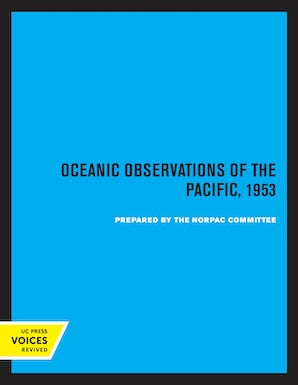 Oceanic Observations of the Pacific, 1953