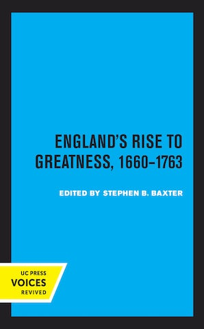 England's Rise to Greatness, 1660-1763