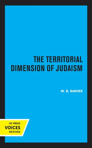 The Territorial Dimension of Judaism