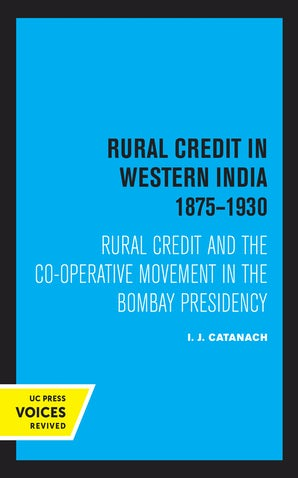 Rural Credit in Western India 1875–1930