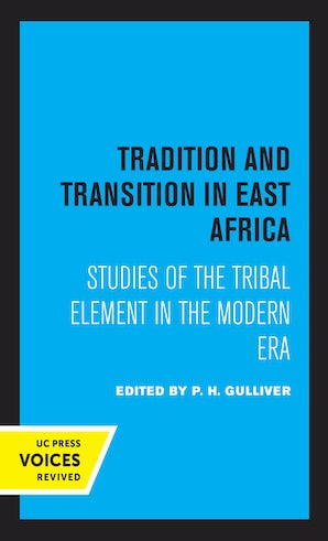 Tradition and Transition in East Africa