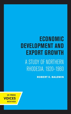 Economic Development and Export Growth