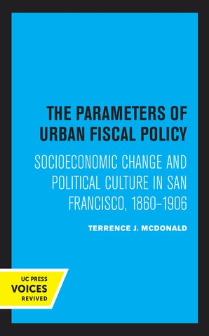 The Parameters of Urban Fiscal Policy