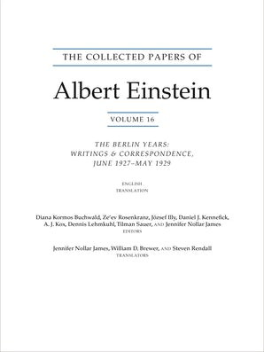 The Collected Papers of Albert Einstein, Volume 16 (Translation Supplement)