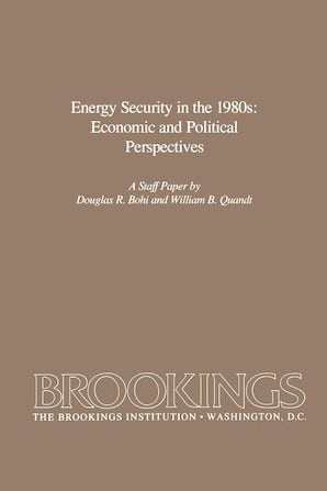 Energy Security in the 1980s