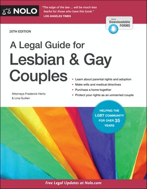 Legal Guide for Lesbian & Gay Couples, A