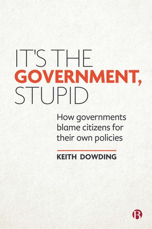 It's the Government, Stupid