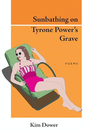 Sunbathing on Tyrone Power's Grave
