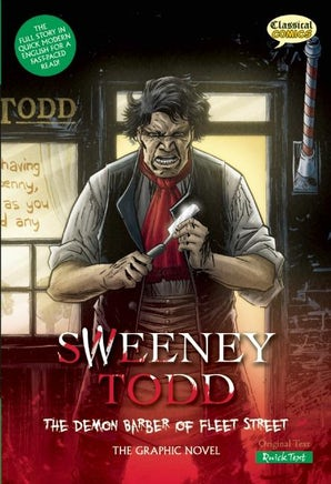 Sweeney Todd The Graphic Novel: Quick Text