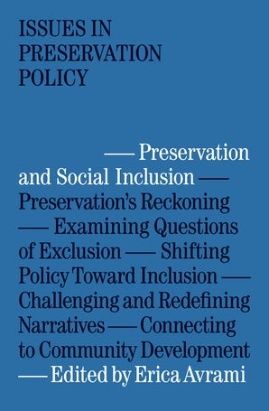 Preservation and Social Inclusion