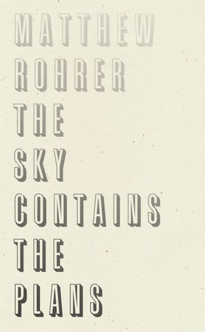 The Sky Contains the Plans
