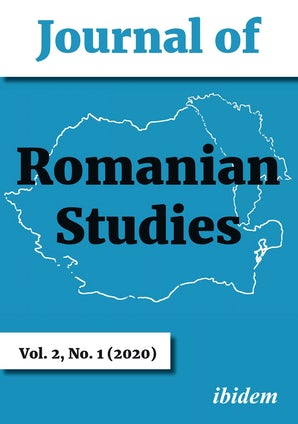 Journal of Romanian Studies Volume 2, No. 1 (2020)